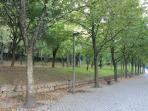 Parque Covelo, zona para passeio, manutenção e passeio com animais.