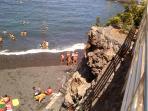 vista parcial playa