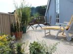 Double bedroom terrace