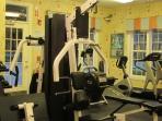 Small gym area
