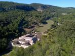 Abbey of Senanque, a few kilometers away