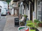 Dunster Village Somerset