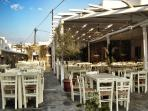 Enjoy one of the best souvlaki in Mykonos, only 5 minutes walking from the house