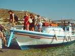Ornos sea taxi