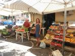 Fruit & vegetables markt in Capaci