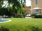 La pelouse....