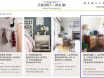 The Beach Lodge was recently featured on West Elm's blog 'Front & Main'