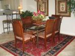 Elegant Dining Room in Penthouse Unit, Comfortably Seats 6