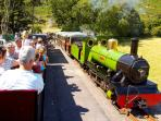 Eskdale and Ravenglass Narrow Gauge Steam Railway - only a 5 minute walk from the cottages!