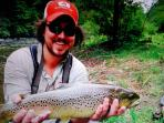 DAKOTA ROGERS - FLY FISHING GUIDE FOR 'NANTAHALA ON THE FLY'