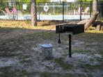 Park-style grill