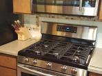 Brand New Microwave and Propane Gas Stove