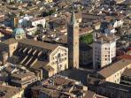 Parma, il duomo e il Battistero