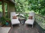 Pletty of space to lounge on the deck