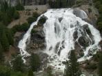 waterfall at salt springs