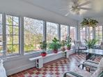 Look forward to relaxing in either of the 2 bright and airy sunrooms.