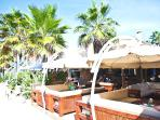 The Beach House, Elviria. Great for breakfast, lunch or dinner with live entertainment daily