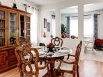 Enjoy your meals at this elegant dining area