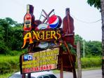 Dine at Angler's only minutes away - contact host for details