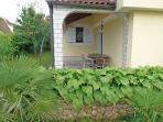 Dvojka(2+1): garden terrace