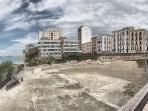 Foto d'epoca del Lungomare prima costruzione palazzo