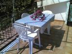 tavolo da pranzo sul terrazzo