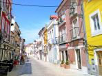 Rua Vasco da Gama (less than 1 min. from the house) - restaurants and services
