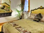 Leopard Print Bed and towels from Roberto Cavali
