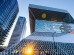 The stunning Seattle Central library is an easy walk away.