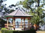 The historic bandstand at Moora Park Shorncliffe