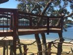 Treehouse overlooking Lake Travis