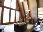 A-Frame Living Area.