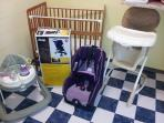 Baby Equipment, also includes a Pack'N'Play playpen/crib