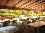 Covered Open Air Patio