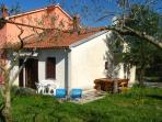 Holiday house Tina is located in a small town Vodnjan near the island Brijuni