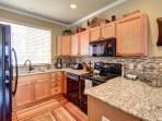 Kitchen- Every amenity included.