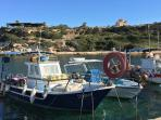 Agious Georgious little harbour about 20 mins from apartment