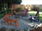 Back yard fire pit