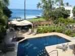 Aloha and Welcome, come enjoy the stunning ocean view and our beautiful condo!