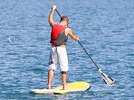 SUP available for hire just 10 mins away