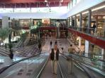 This is La Canada a huge shopping centre just outside Marbella. There is a cinema as well as
