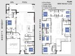 Layout of villa to help you plan your accomondation.