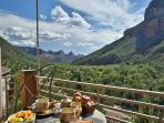 Enjoy majestic views as far as the eye can see from the Sedona Guest Villa