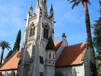 Churches, wonderfully preserved architecture, friendly locals, museums, all on our door step.