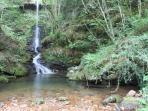 cascada en Barcenillas