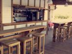 Bar - Partie extérieur - Piscine