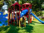 Playground located at resort.