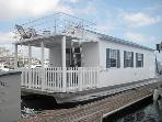 Sleep Aboard offers a fleet of well-appointed houseboats located in Downtown Providence