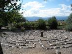 Labyrinth, a few steps away