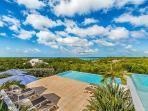 Grand Bleu ...4 BR luxury vacation rental villa French St Martin...800 480 8555